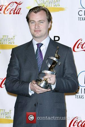 Christopher Nolan ShoWest 2008 Final Night Banquet and Awards Ceremony held at the Paris Hotel and Casino Las Vegas, Nevada...