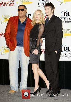 Lawrence Fishburne, Kate Bosworth and Jim Sturgess ShoWest 2008 Final Night Banquet and Awards Ceremony held at the Paris Hotel...