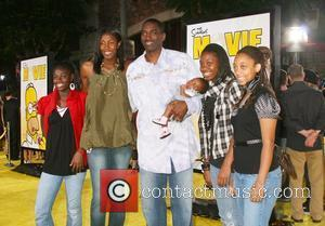 Lisa Leslie and family 'The Simpsons Movie' World Premiere - Arrivals held The Mann Village Theater Westwood, California - 24.07.07