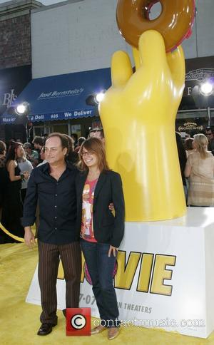 Kevin Pollak and guest 'The Simpsons Movie' premiere  at the Mann Village Theater - Arrivals Westwood, California - 24.07.07
