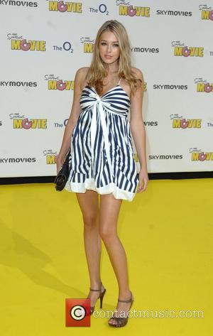 Keeley Hazell 'The Simpsons Movie' UK premiere  at Vue Cinema - Arrivals London, England - 25.07.07