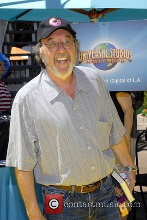 James L Brooks The Simpsons ride opens at Universal Studios Hollywood Los Angeles, California - 17.05.08