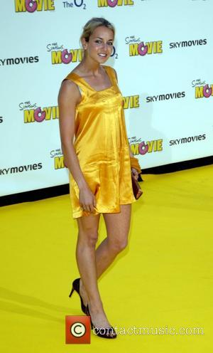 Lady Isabella Hervey  'The Simpsons Movie' UK premiere at Vue Cinema - Arrivals London, England - 25.07.07