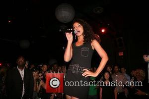 Mya performing Skool'd event at Sol co-sponsored by Universal Records, HX and Genre Magazines to benefit he Ali Forney Center,...