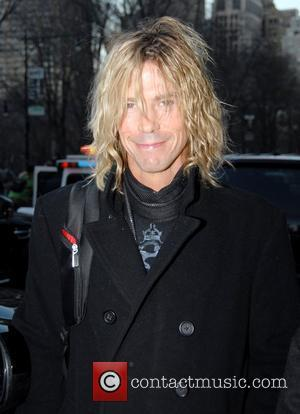 Duff McKagan outside his hotel New York City, USA - 31.12.07