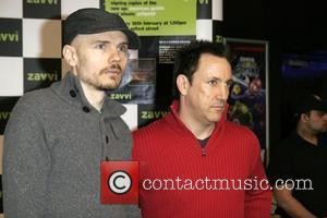 Billy Corgan and Jimmy Chamberlin