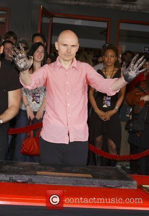 Billy Corgan The Smashing Pumpkins get inducted into 'Hollywood's RockWalk' Los Angeles, California - 23.04.08