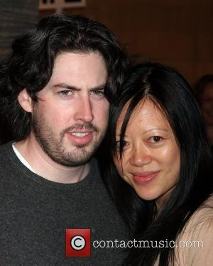 Jason Reitman and wife Michelle Lee Los Angeles premiere of 'Snow Angels' held at The Egyptian Theatre - Arrivals Hollywood,...