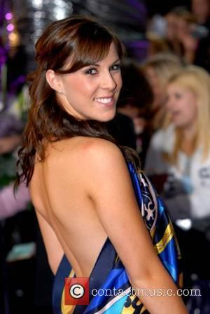 Verity Rushworth British Soap Awards - Arrivals England - 26.05.07