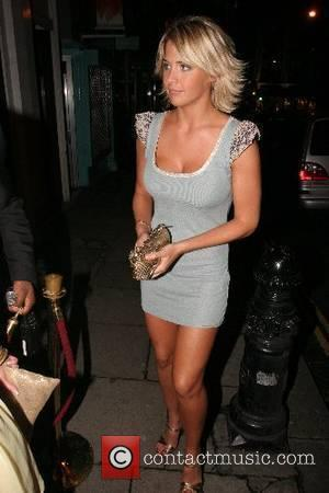 Gemma Atkinson British Soap Awards aftershow party - arrivals held at Dunes London, England - 26.05.07