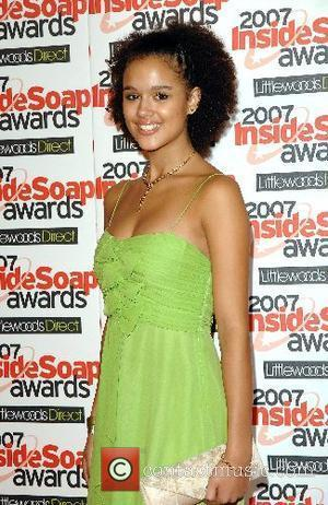 Nathalie Emmanuel Inside Soap Awards 2007 held at Gilgamesh London, England - 24.09.07
