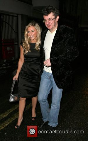 Suzanne Shaw and Joe Pasquale arrive at the Soho Hotel London, England - 29.02.08