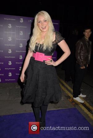 Victoria Hart Sony Ericsson K770i phone - launch party at The Bloomsbury Ballroom London, England - 24.10.07