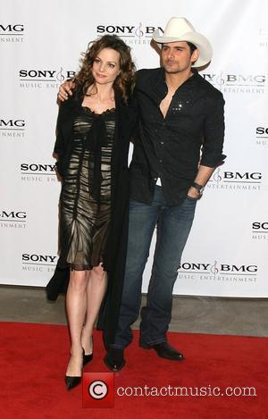 Kimberly Williams and Brad Paisley Attending the Sony BMG Post Grammy Party at the Beverly Hills Hotel Beverly Hills, California...