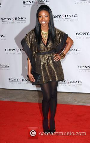 Brandy The Sony BMG post-Grammy party to celebrate the 50th Annual Grammy Awards held at The Beverly Hills Hotel Beverly...