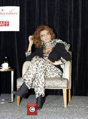 Sophia Loren  at the press conference for the Italian Australian Film Festival being held in Sydney from 2-7 June...
