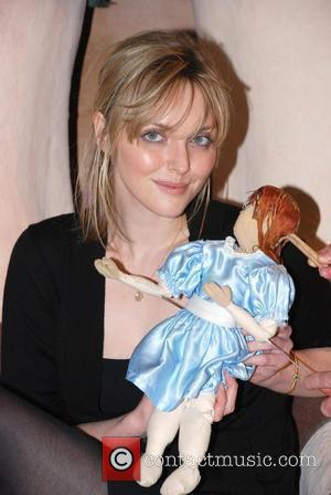 Sophie Dahl appearing at the Polka Theatre to promote a series of plays based on childrens novels written by her...