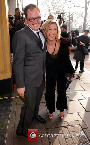 Alan Carr and Jessie Wallace