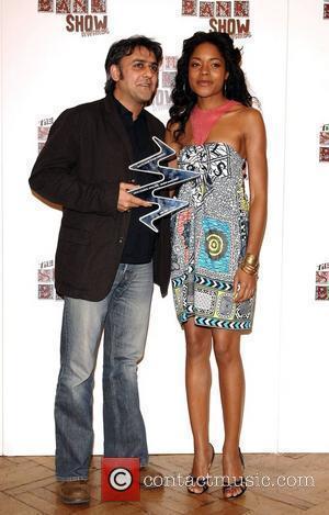 Daljit Nagra with Naomie Harris