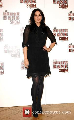 Martine McCutcheon The South Bank Show Awards at The Dorchester Hotel - Inside London, England - 29.01.08