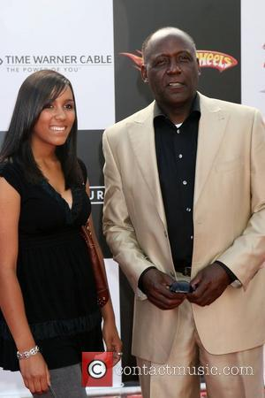 Richard Roundtree and Daughter 'Speed Racer' premiere held at the Nokia Theater - Arrivals Los Angeles, California - 26.04.08