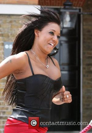 Mel B Drawn To Diana's Trainer
