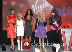 Victoria Beckham, Emma Bunton, Geri Halliwell and Virgin
