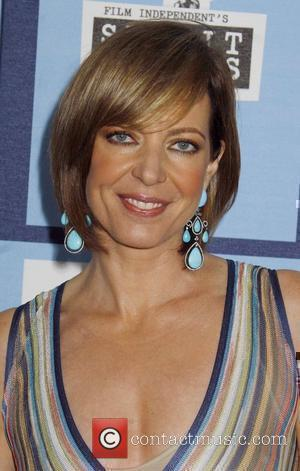 Allison Janney 2008 Film Independent's Spirit Awards at the Santa Monica Pier - Arrivals Santa Monica, California - 23.02.08