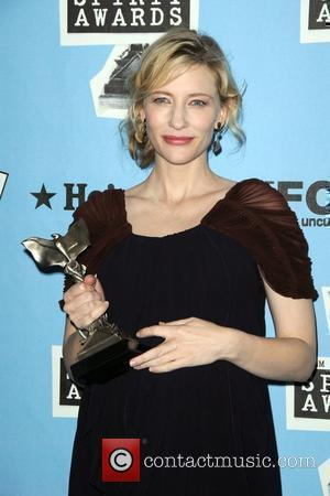 Cate Blanchett Shows Off New Baby At Arts Summit