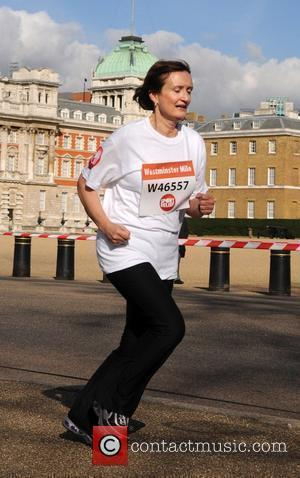 Tessa Jowell Over 50 MPs and members of the House of Lords take part in the The Westminster Sport Relief...