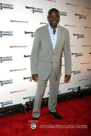 Carl Lewis Sport Museum of America opening night gala - Arrivals New York City, USA - 06.05.08