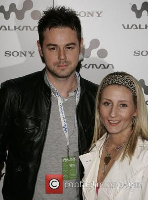 Danny Dyer and guest Walkman Spring Fling party at Reliance Square - Arrivals London, England - 10.04.08