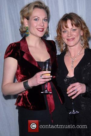 Sara Stewart and Samantha Bond