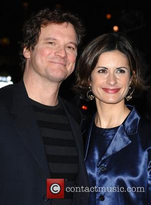 livia giuggioli and colin firth. Colin Firth and Livia
