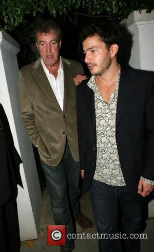 Jeremy Clarkson and Giles Corran London premiere of 'Stardust' afterparty at Claudia Schiffer and Matthew Vaughn's house - Departures