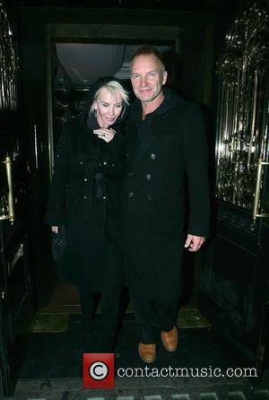 Sting and Trudie Styler