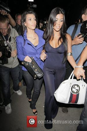 Kim Kardashian and Friend