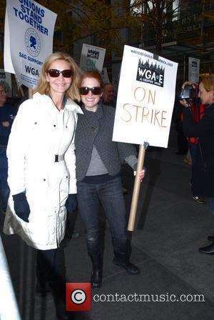 Joan Allen and Julianne Moore