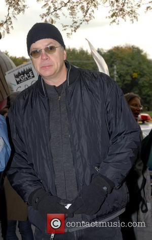 Tim Robbins Writers Guild of America, East continues their strike with celebrity support at Time Warner Center. Film and television...