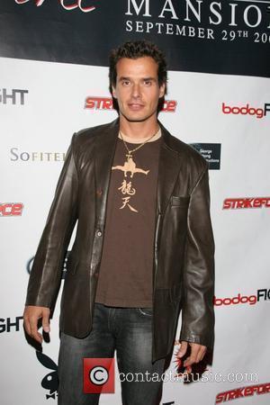 Antonio Sabato Jr. Strikeforce, held at the Playboy Mansion Los Angeles, California - 29.09.07