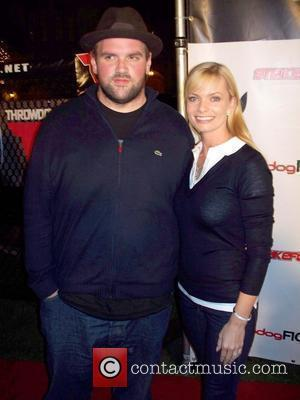 Ethan Suplee and Jaime Pressly Strikeforce, held at the Playboy Mansion Los Angeles, California - 29.09.07