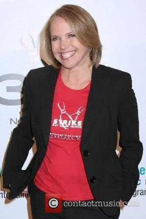 Katie Couric 'Strike Out Colon Cancer' Fundraiser for Colon Cancer Research and Awareness Programs held at the Bowling Center at...