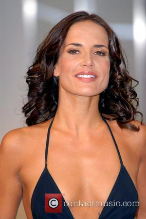 Sophie Anderton launches Strip To Give Swimwear at the Intimate Body & Beach show held at Olympia London, England -...