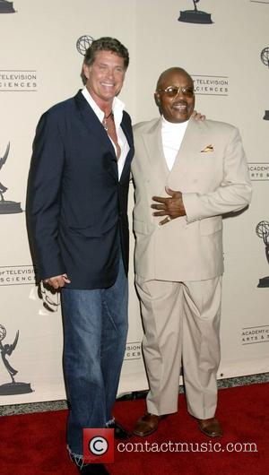 David Hasselhoff and Roger Mosely