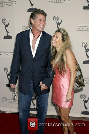 David Hasselhoff and Michele Lilley