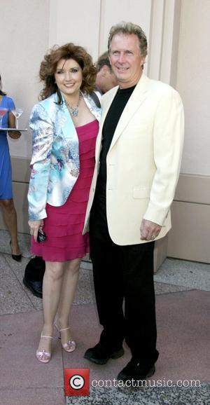 Morgan Brittany and Jack Gill