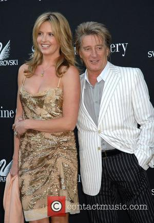 Rod Stewart and Penny Lancaster The Summer Party held at the Serpentine Gallery London, England - 11.07.07