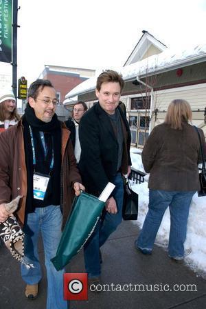 Bill Pullman leaving his hotel. Sundance Film Festival Park City, Utah - 18.01.08