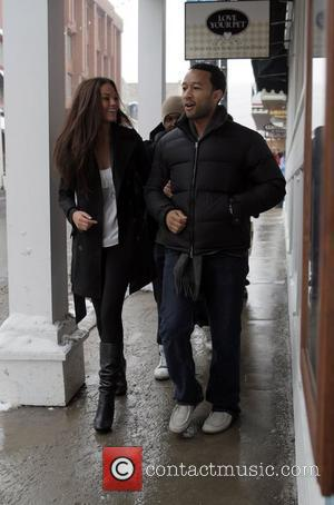 John Legend 2008 Sundance Film Festival, Day 5 John Legend walking with a friend during the Sundance Film Festival. Park...