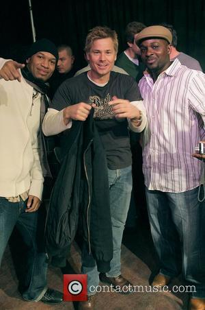 Kato Kaelin with guests